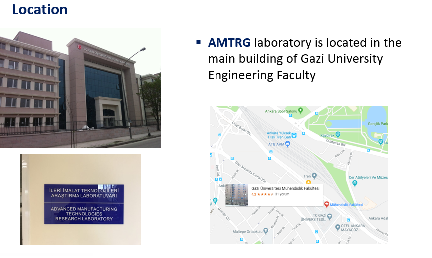Contact - ADVANCED MANUFACTURING TECHNOLOGY RESEARCH GROUP