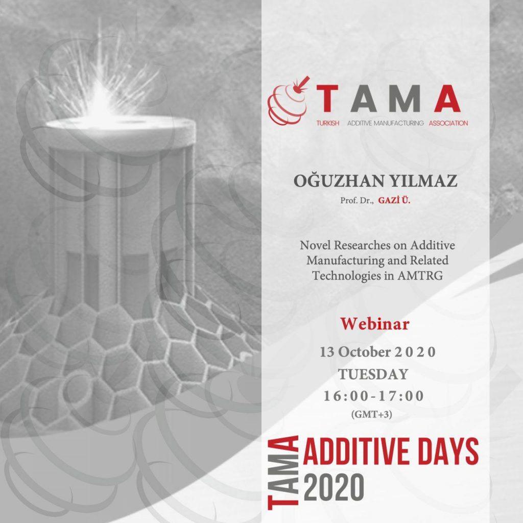 TAMA Additive Days-13/10/2020