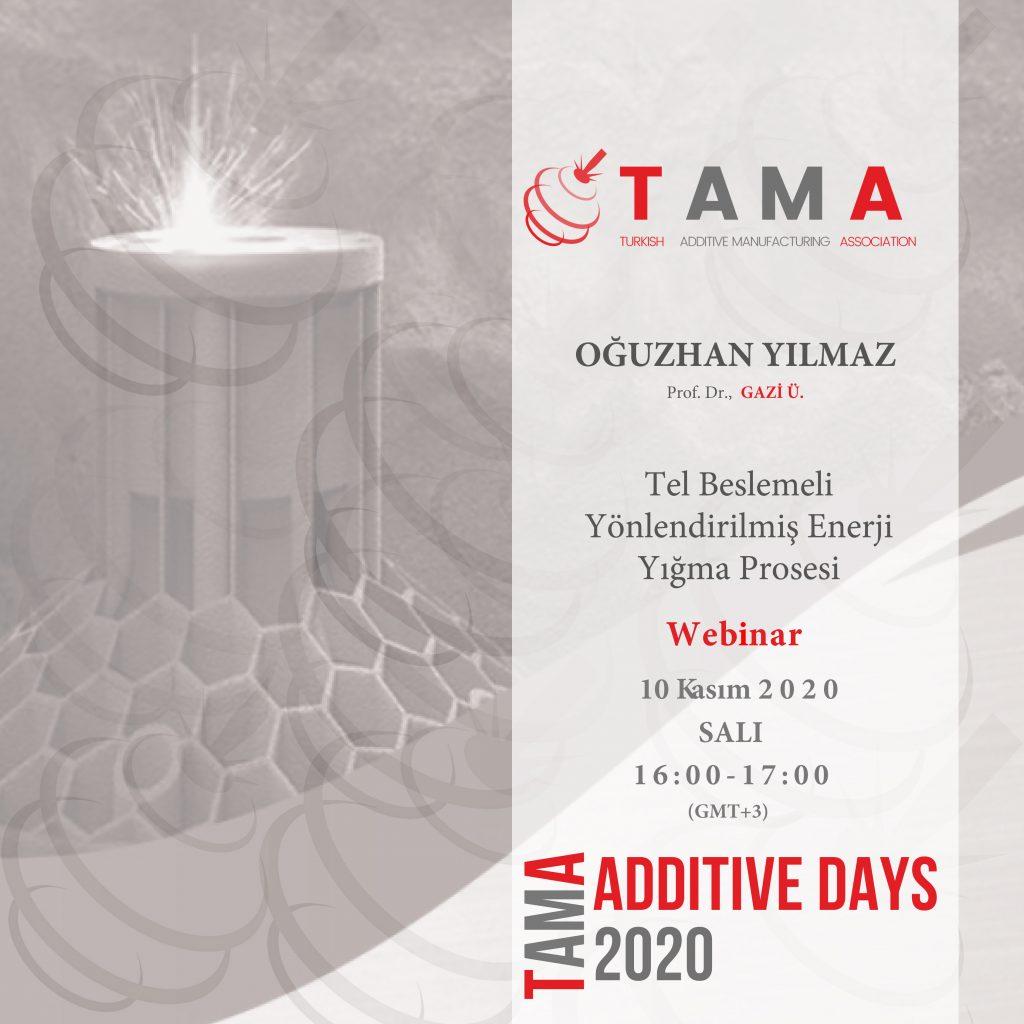 TAMA Additive Days-10/11/2020